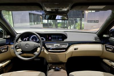 Autoblog - TuttoAuto - mercedes classe S AMG - interni