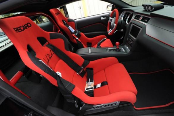 Autoblog - Tuttoauto - ford mustang shelby roush sr 71 - interni