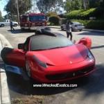 Autoblog - TuttoAuto - Ferrari 458 incendiata - 1
