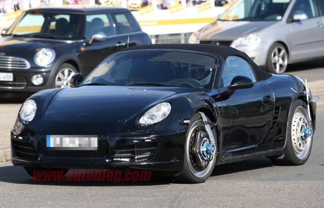 Autoblog - TuttoAuto - foto spia Porsche boxster - 1