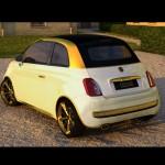 Autoblog - TuttoAuto - Fiat 500 - fenice da 500000 euro - esterni 2