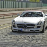 Auto blog - Tutto Auto -  Mercedes SLS roadster amg - 3