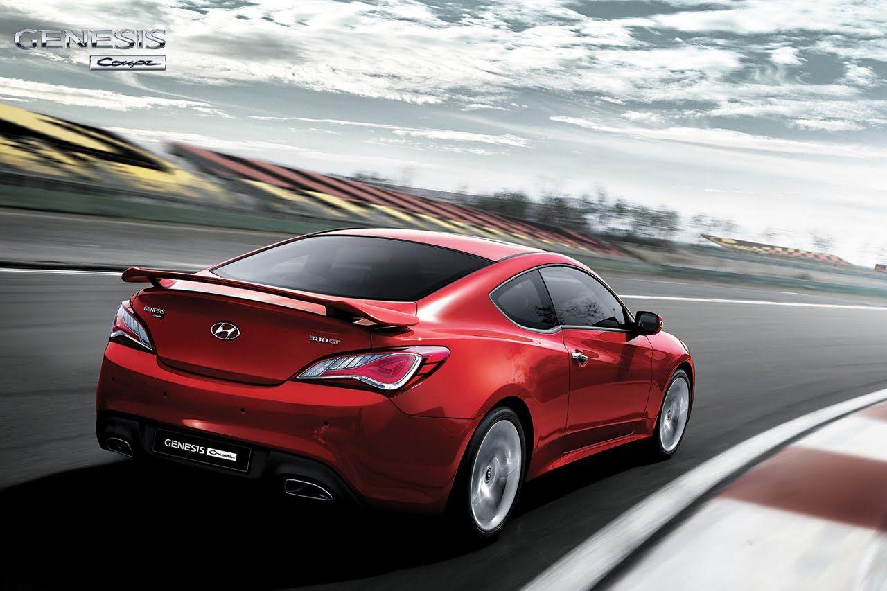 nuova hyundai Genesis Coupe facelift