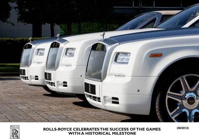 Rolls-Royce giochi olimpici - 4