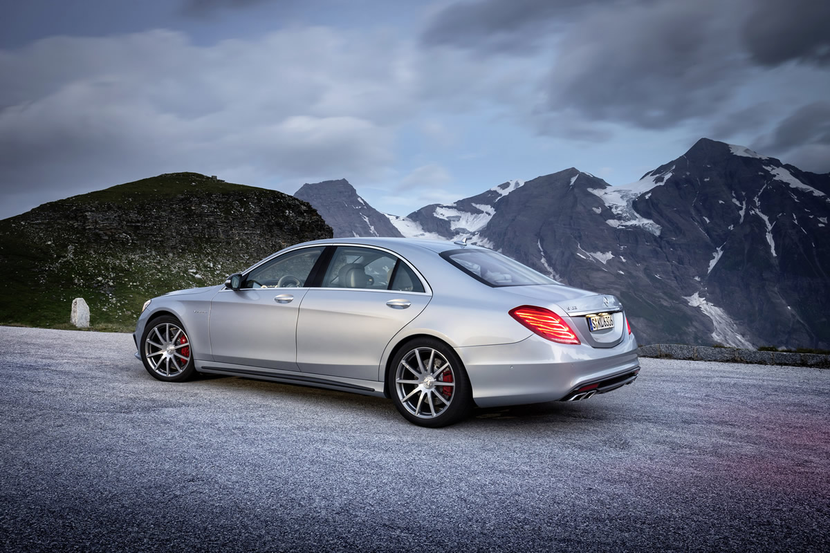 motore Mercedes AMG Classe S 63 AMG