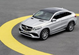 Mercedes GLE 63 amg coupè