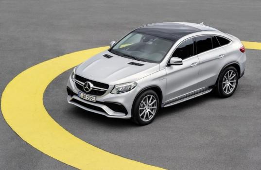 Mercedes GLE 63 amg coupè