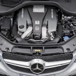 Mercedes GLE 63 amg coupè motore
