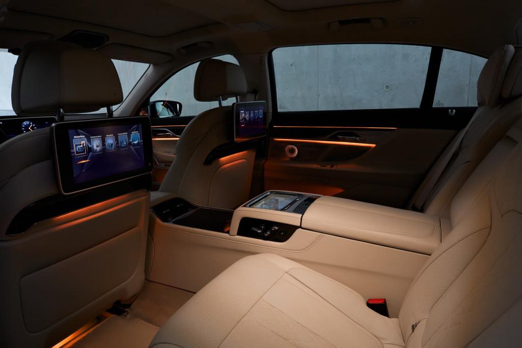 nuova bmw serie 7 - tutto auto blog - interni